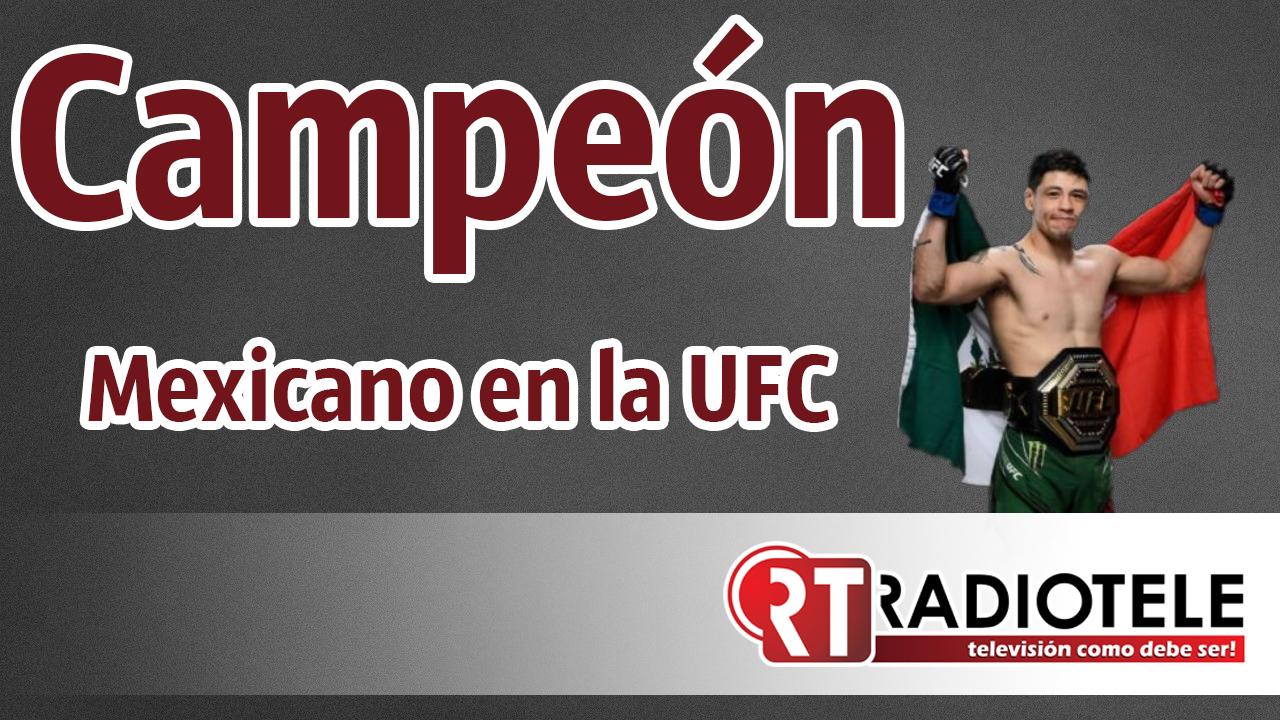 🥊🥊CAMPEÓN MEXICANO en la UFC 🥊🥊