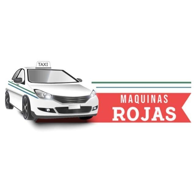 Taxis Maquinas Rojas