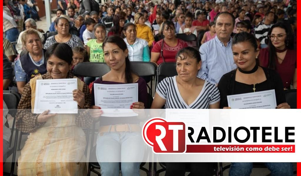 Gobierno de Morelia brindó certeza habitacional a familias morelianas