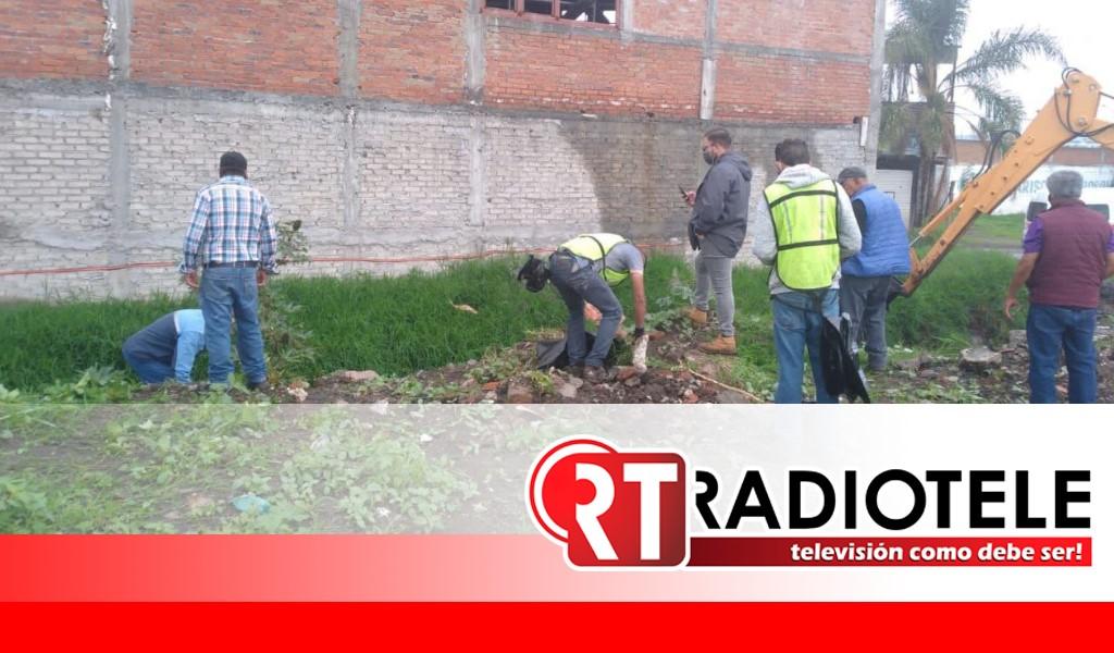 Brigada Interinstitucional retira 45 toneladas de lirio y basura en dren de Morelia