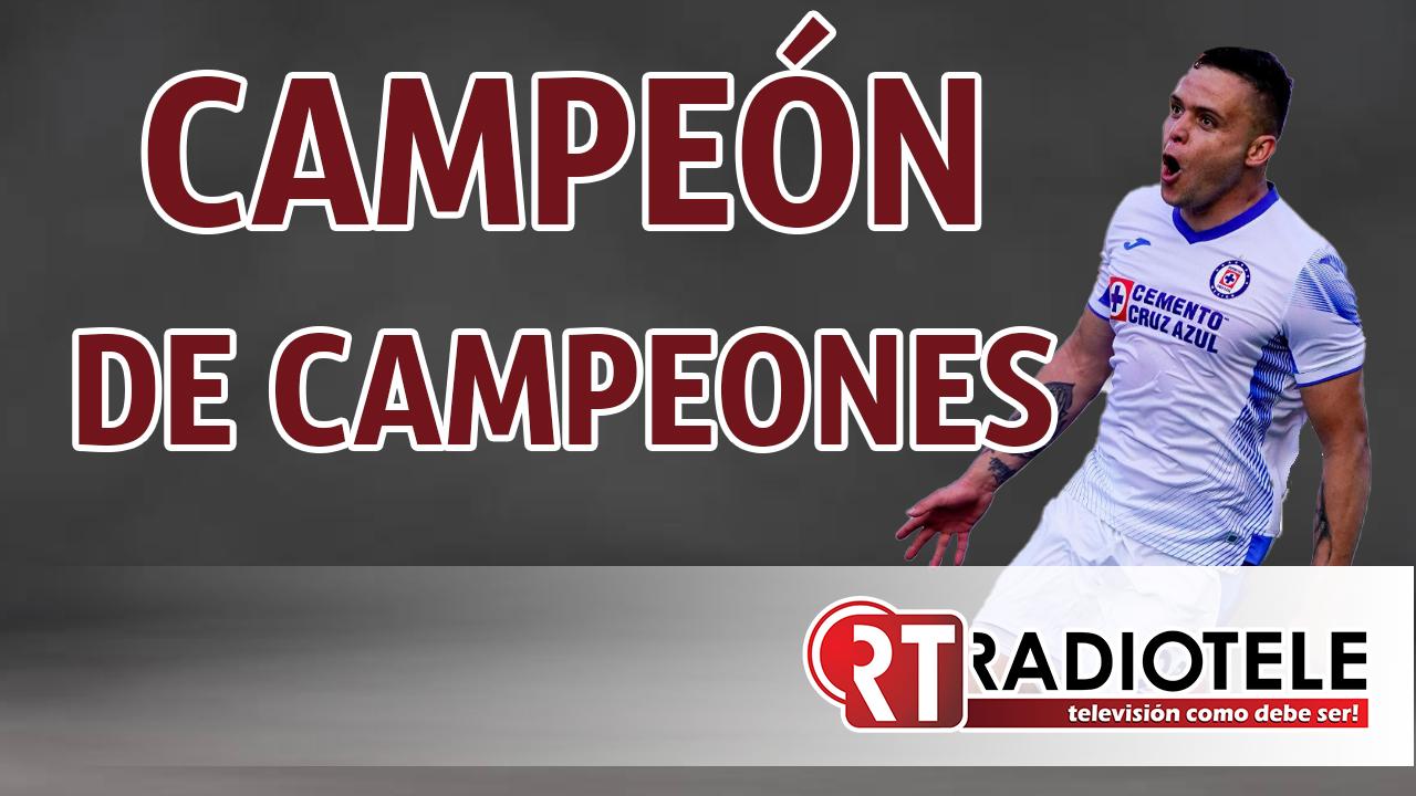 CRUZ AZUL suma un trofeo más, es CAMPEÓN DE CAMPEONES