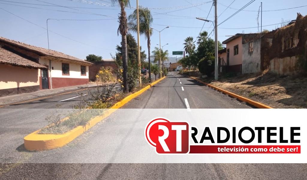 Con 4.4 mdp, rehabilitó Gobierno de Michoacán vialidades en Tlazazalca