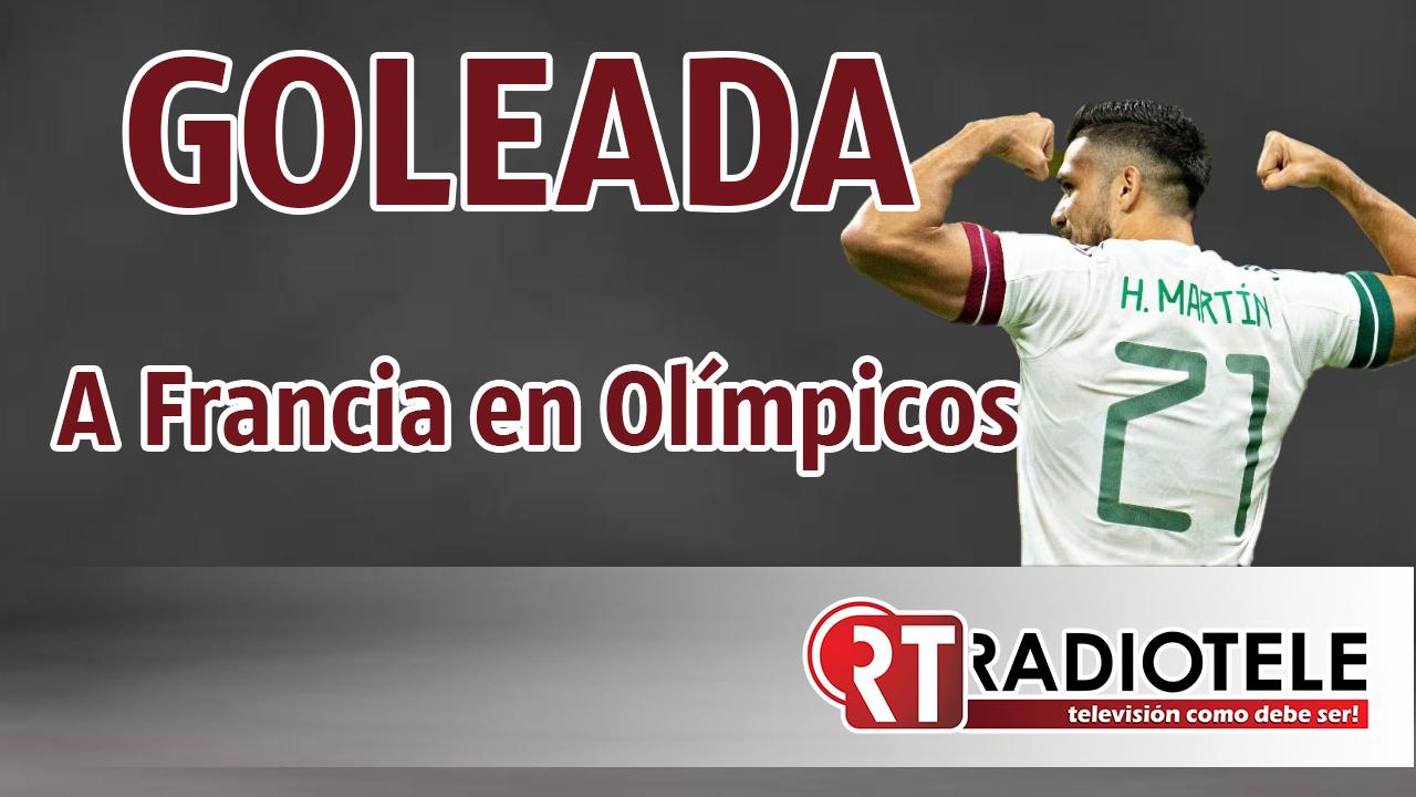 TRICOLOR debuta en Olímpicos con GOLEADA sobre FRANCIA