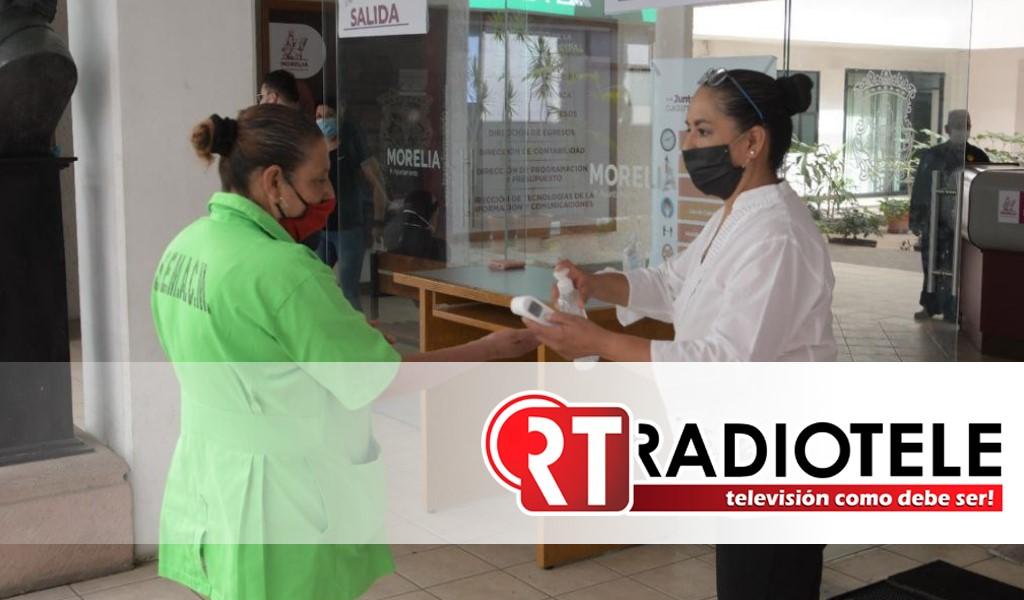 Gobierno de Morelia reforzará medidas sanitarias en establecimientos