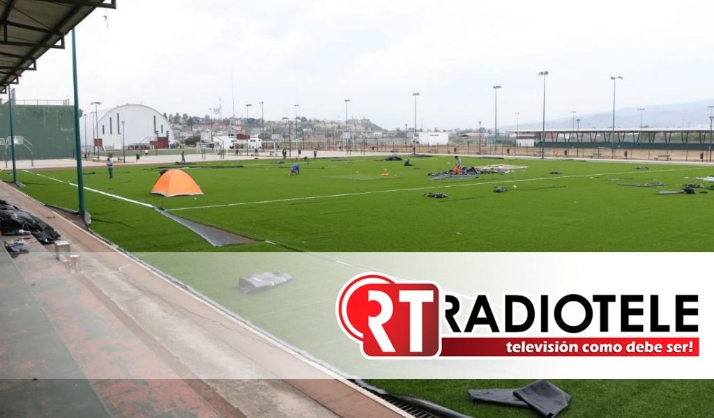Gobierno de Morelia retomó inversión en infraestructura deportiva