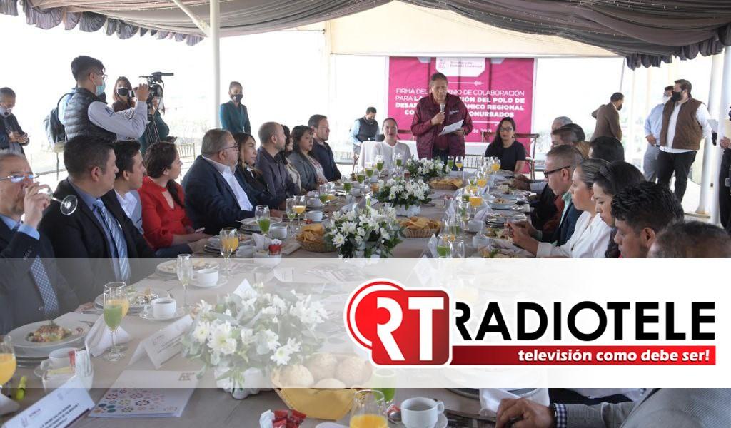 Humberto Arróniz consolida proyecto de desarrollo regional