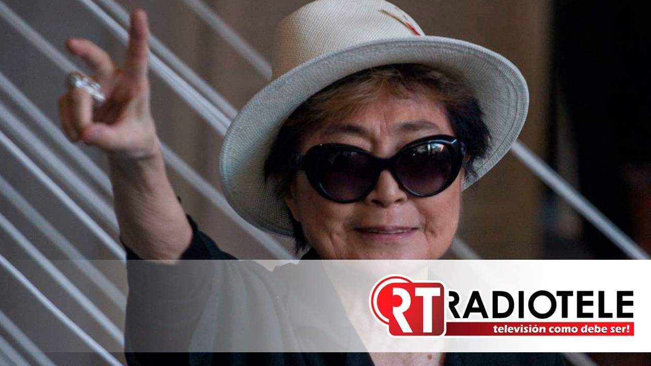 """Así reaccionó Yoko Ono tras escuchar """"Imagine"""" en inauguración de Tokio 2020"""