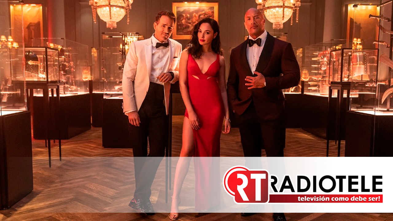 """""""Alerta Roja"""": cinta con """"La Roca"""", Gal Gadot y Ryan Reynolds confirma su fecha de estreno"""