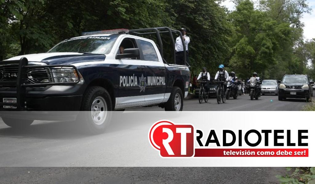Policía de Morelia intensifica trabajos de vigilancia en Centro Histórico