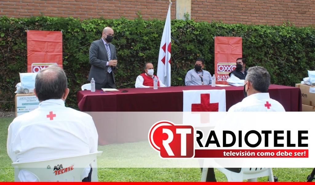 SEE, Cruz Roja y cadena Oxxo suman esfuerzos contra el COVID-19