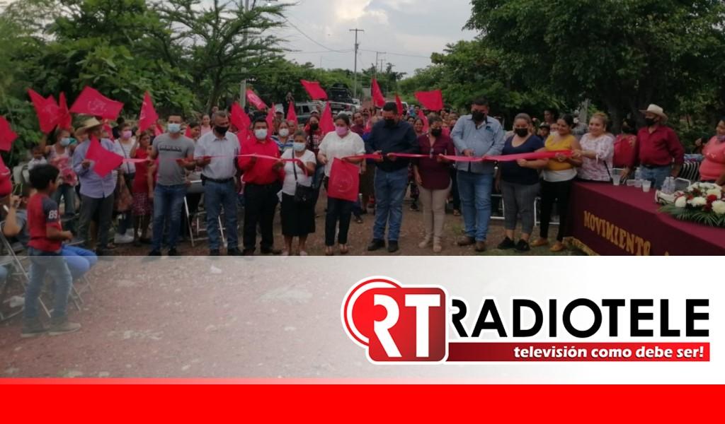 Unidad y lucha; colonos tendrán energía eléctrica en Gabriel Zamora
