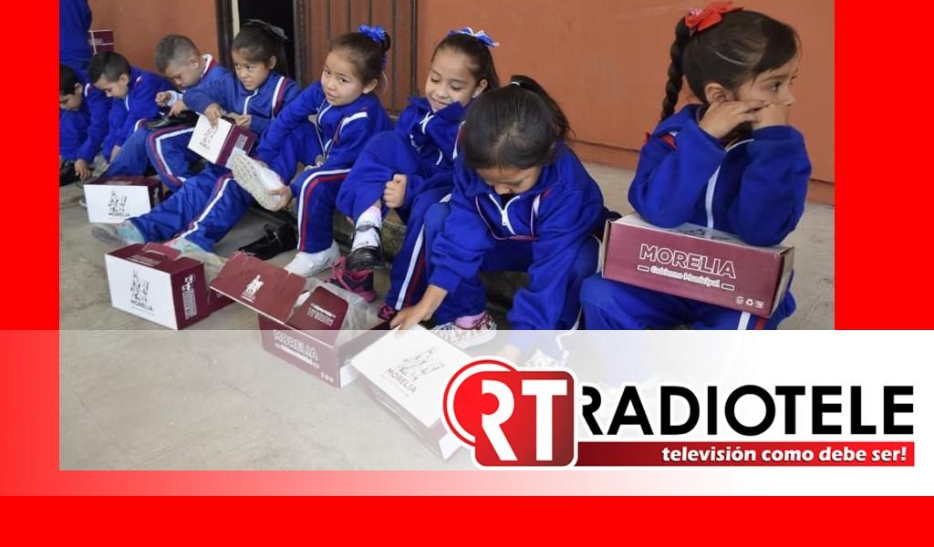 Mejorar sector educativo, compromiso cumplido del Gobierno de Morelia