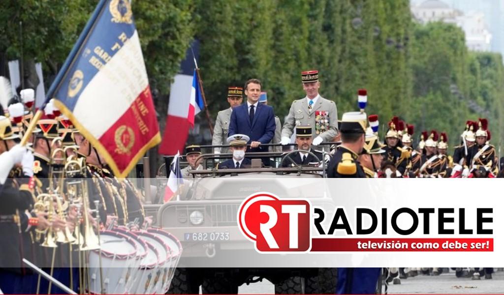 El festejo nacional de Francia en pandemia