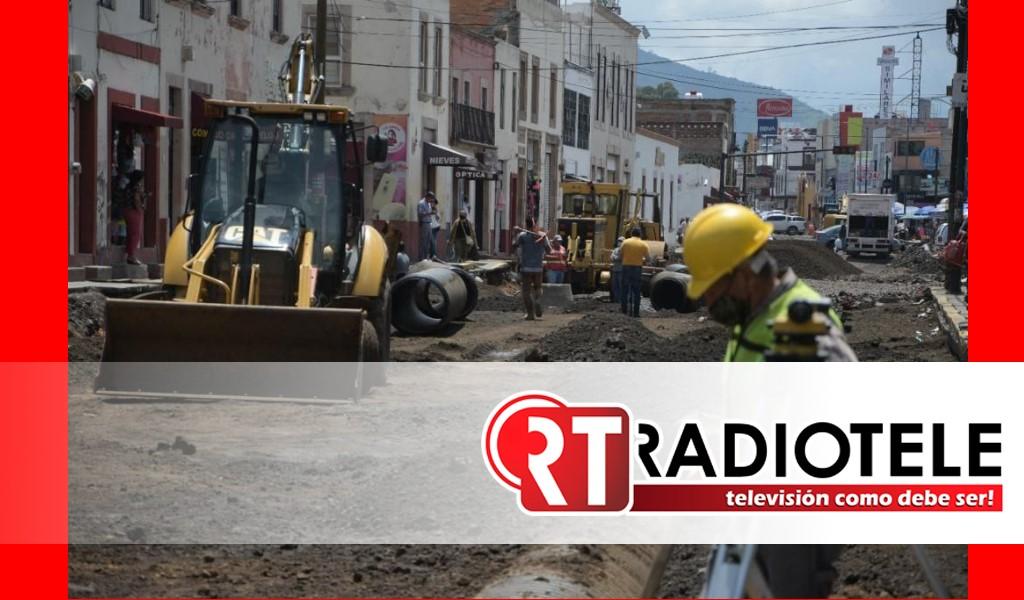Gobierno de Morelia avanza en rehabilitación de Av. Lázaro Cárdenas