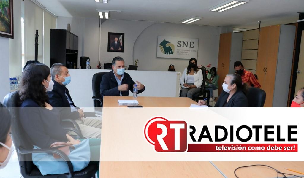 Consolidar a la plataforma Sí Empleo Michoacán como ejemplo nacional, llama titular de Sedeco