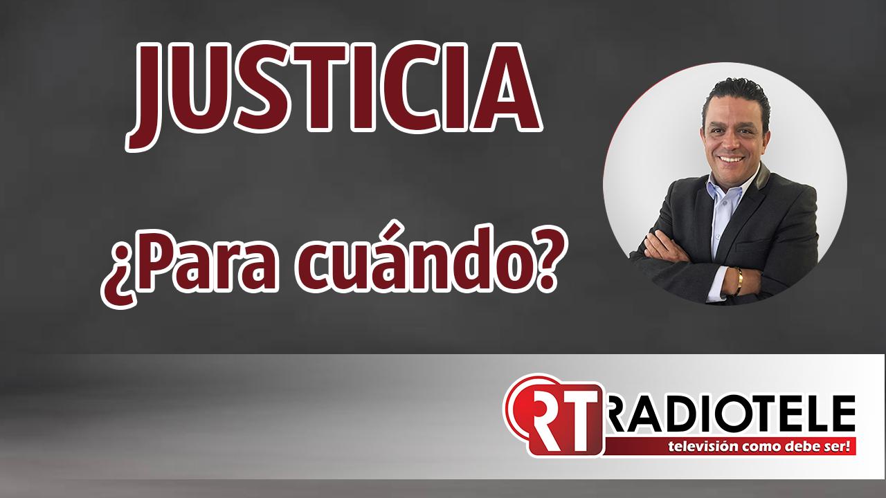 JUSTICIA defienden a Saúl Huerta por su fuero