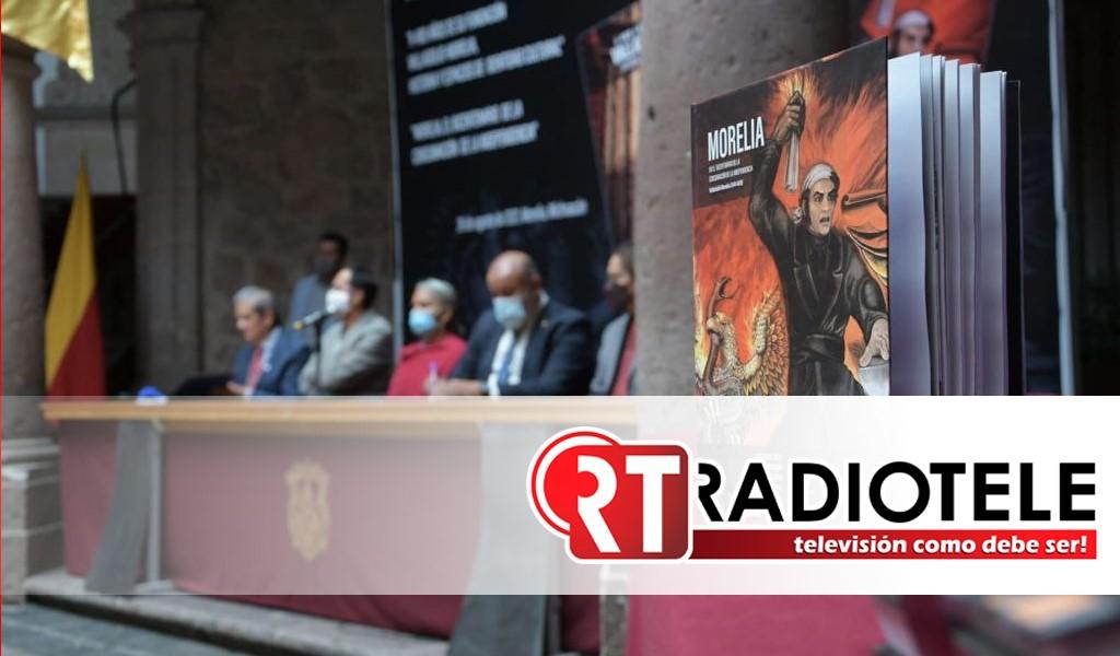 Gobierno de Morelia promueve la historia, presenta libros de investigación