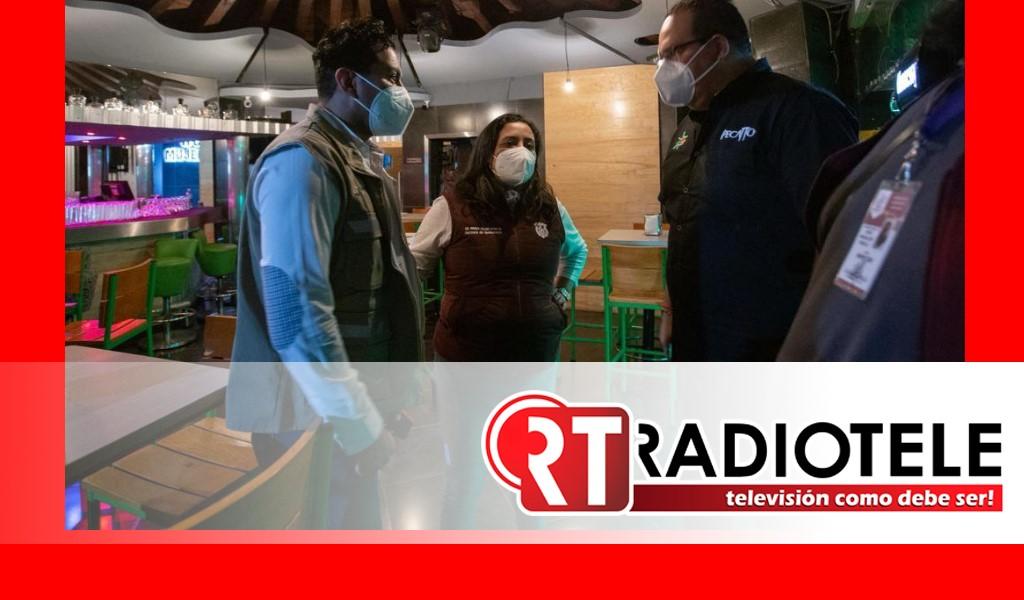 Gobierno de Morelia continúa con operativos de inspección en establecimientos