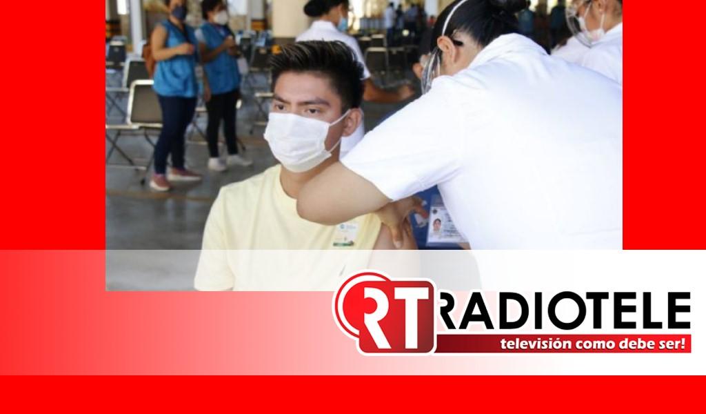 Finaliza vacunación de segunda dosis de 30 a 39 años en Tarímbaro