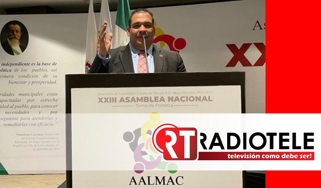 Designan a Bladimir González Vicepresidente Nacional de la Mesa Directiva de la AALMAC