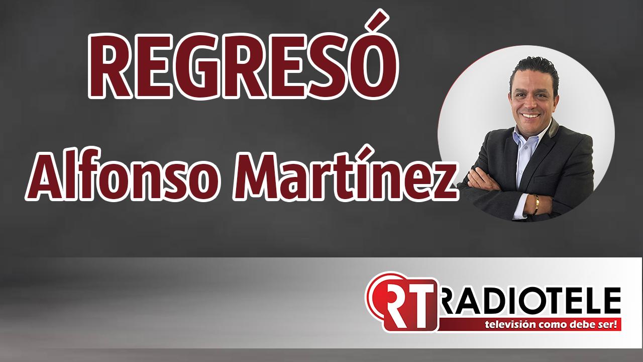 REGRESÓ, Alfonso Martínez a la presidencia de Morelia