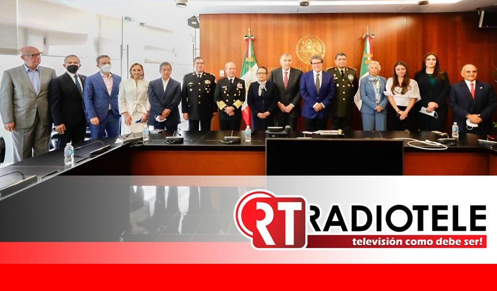 Cohesiona Ricardo Monreal esfuerzos por un país más seguro