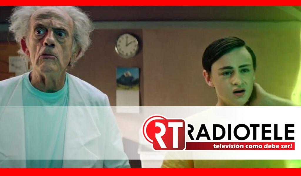 Rick y Morty en live action con Christopher Lloyd
