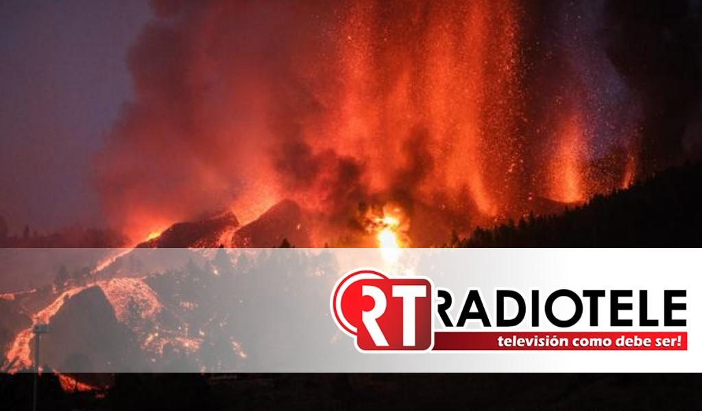 Más de 5,000 evacuados deja la erupción del volcán La Palma