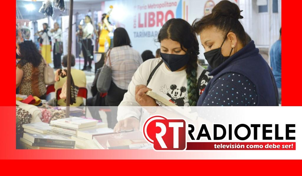 Feria Metropolitana del Libro en Tarímbaro concluye su primera edición