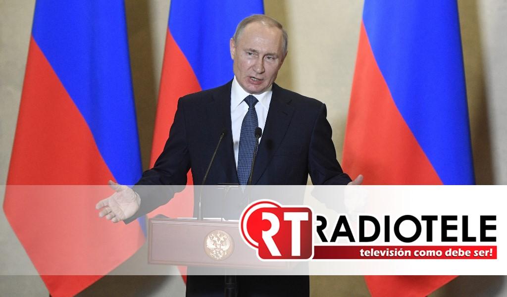 Vladímir Putin anuncia una semana no laborable por el aumento de casos de coronavirus en Rusia