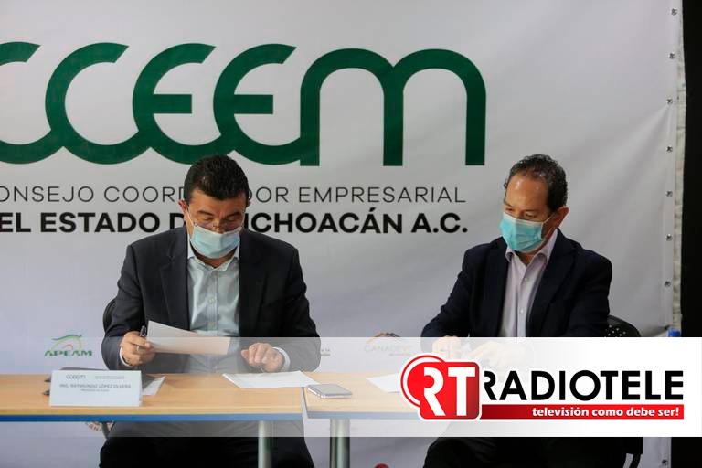 Sector empresarial más que listo para rescatar la economía de Michoacán