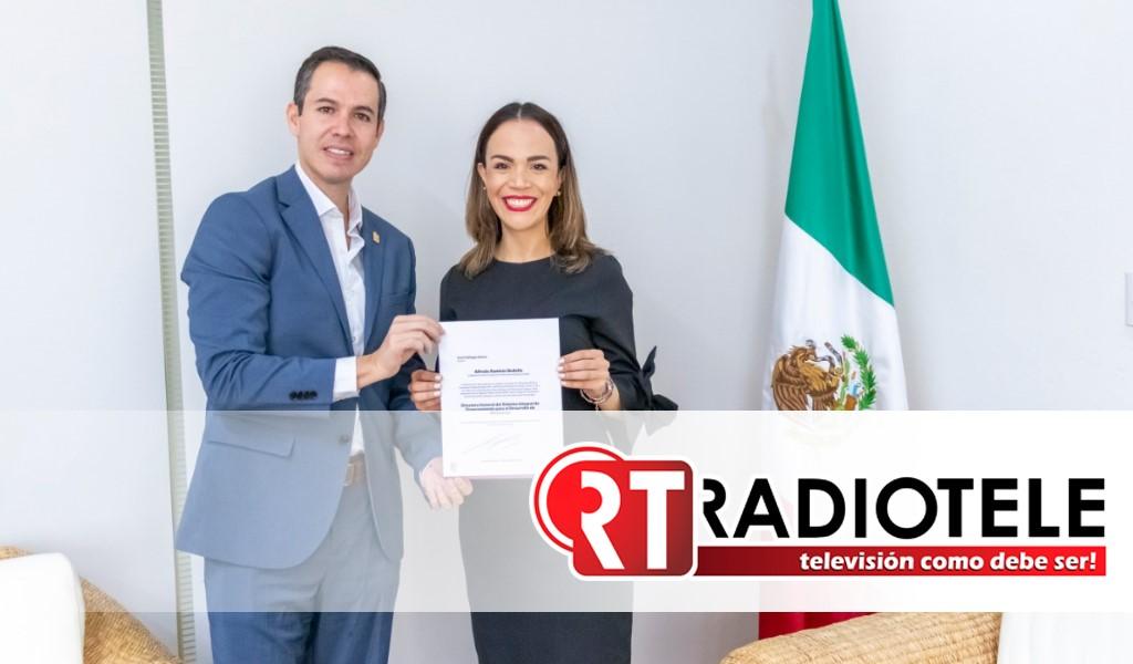 Nombra Gobernador a Areli Gallegos Ibarra, directora general de Sí Financia
