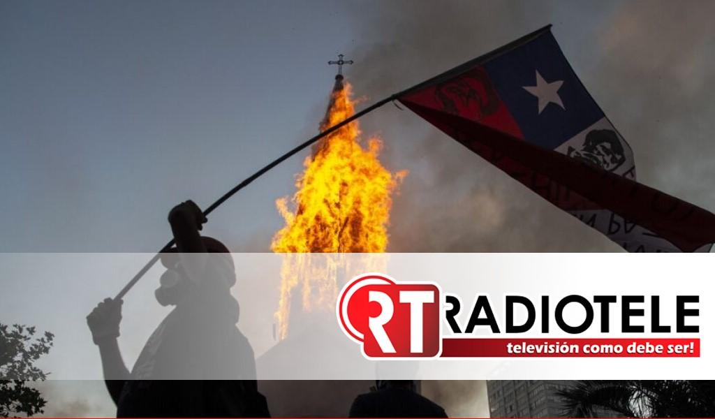 Disturbios y saqueos, en Chile al cumplirse 2 años del estallido social