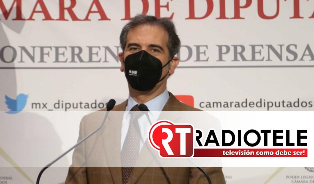 Lorenzo Córdova presidente del INE dará explicación de presupuesto